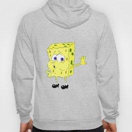 Tired Spongebob Meme Hoody