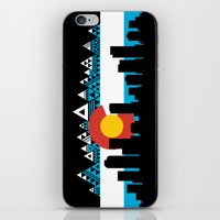 colorado iPhone & iPod Skins featuring COLORADO by Love Life Creative
