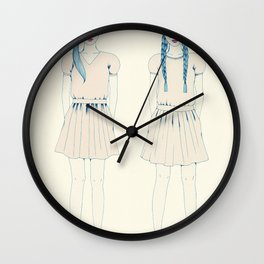girl-16 Wall Clock