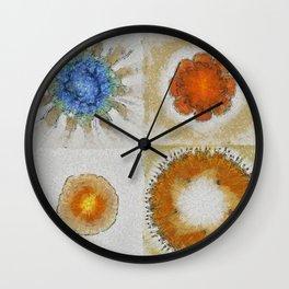 Lochometritis Being Flower  ID:16165-014048-97820 Wall Clock