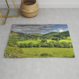 Green and Pleasant Land Rug