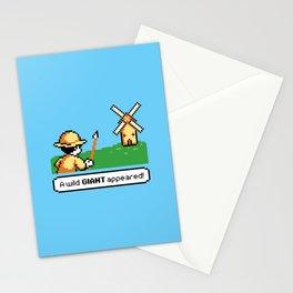 Mon Quixote Stationery Cards