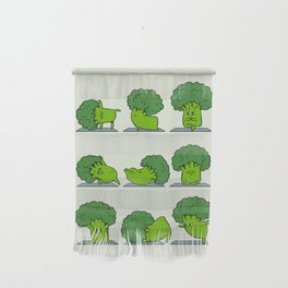 Broccoli Yoga Wall Hanging
