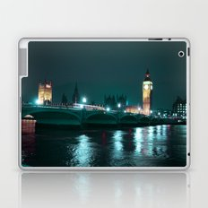Big Ben and Houses of Parliament, Aquamarine Laptop & iPad Skin