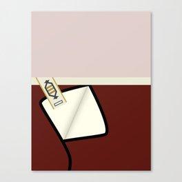 Kirk - TMP -Open - Minimalist Star Trek TMP - James T Kirk - startrek trektangles Wrath of Khan 1701 Canvas Print