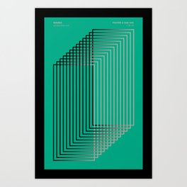 Poster a Day Series - 046 Art Print