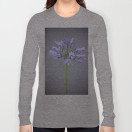 blossom agapanthus flower Long Sleeve T-shirt