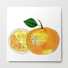 Oranges, Fruits, Fruits, Summer, Metal Print