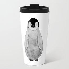 Watercolor Baby Penguin Travel Mug