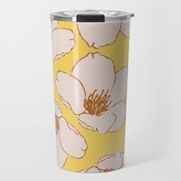 Blossom Me, Blossom You (Yellow) Travel Mug