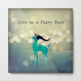 Deers and Fairy Tales Metal Print