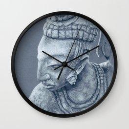 mayan nobleman Wall Clock
