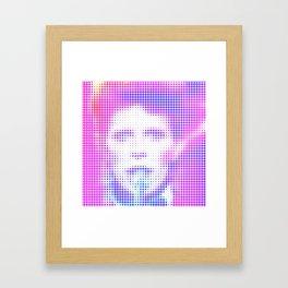 Drive-In Saturday Framed Art Print