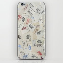 Vintage Postal Ephemera - Mr. Zip iPhone Skin