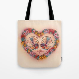 Sweetheart Fantails Tote Bag
