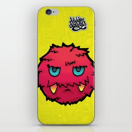 Doodle Red Ball iPhone Skin