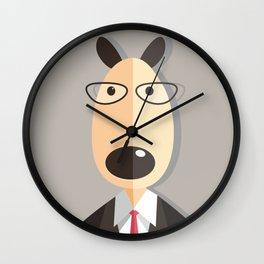Mr.Dog Wall Clock