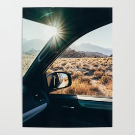 Roadtrip Sunset Poster