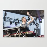 walk the moon Canvas Prints featuring Walk The Moon by Adam Pulicicchio Photography