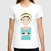 jane austen T-shirts featuring Jane Austen by Creo tu mundo