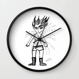 Bulletproof Wall Clock