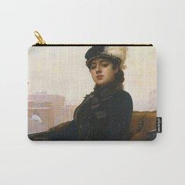 Ivan Kramskoi - Portrait of an Unknown Woman Carry-All Pouch