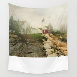 A Morning in Maine Wall Tapestry