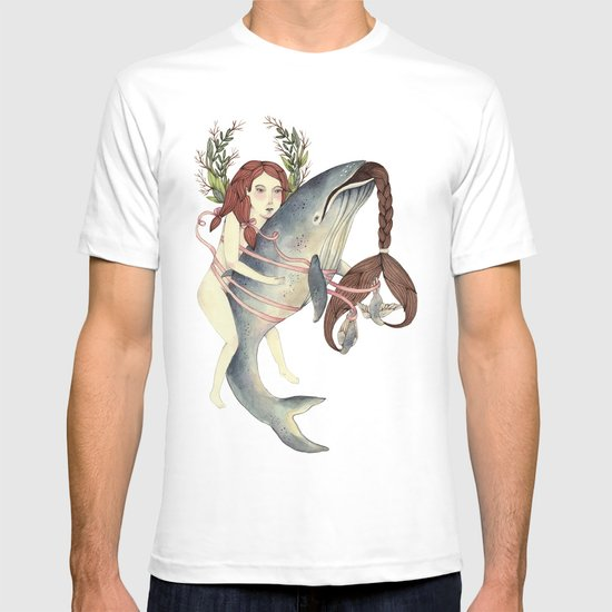 Ribbons Whale T-shirt