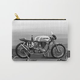 Beer Savage Vintage Norton Cafe Racer Carry-All Pouch