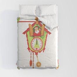 Cuckoo for Christmas Comforters