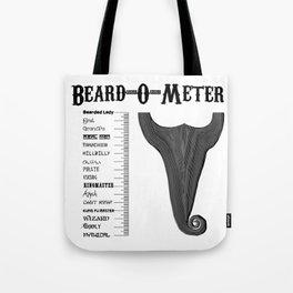 Beard-O-Meter Tote Bag