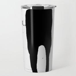 « le fou » Travel Mug