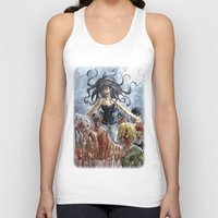 zombies Tank Tops featuring ZOMBIES by Maryne.