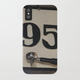 95 Coffee iPhone Case