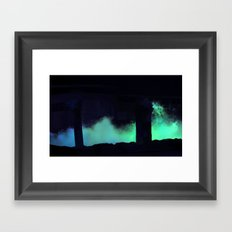 LOST IN THE DARKNESS Framed Art Print