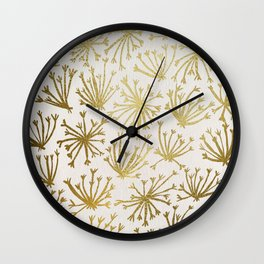 Queen Anne's Lace #2 Wall Clock