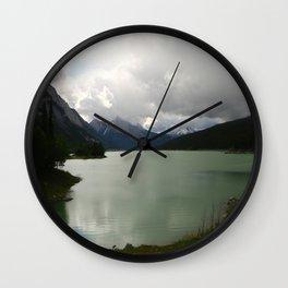 Dark Skies Over Medicine Wall Clock