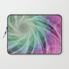 Whirlpool Diamond 2 Computer Art Laptop Sleeve