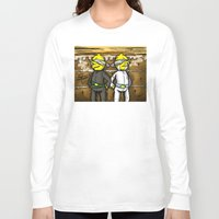 lemongrab Long Sleeve T-shirts featuring Gingerbread Execution - Lemongrabs by BlacksSideshow
