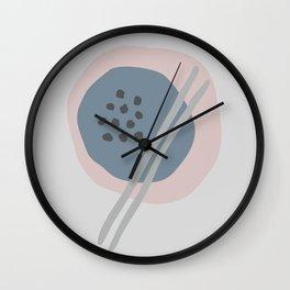 Frugal Food Wall Clock