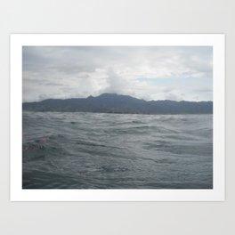 Mountain to the Sea Art Print