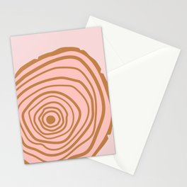 Wood Rings Stationery Cards