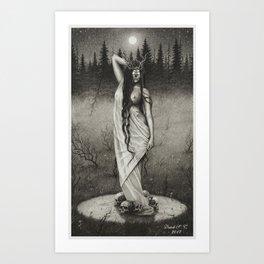 The Fairy Circle Art Print