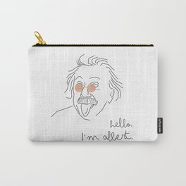 hello I'm albert Carry-All Pouch