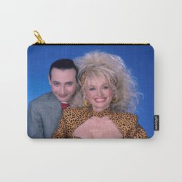 Pee Wee Herman & singer Dolly Parton Carry-All Pouch