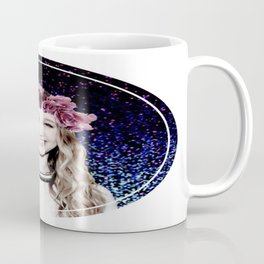 Taissa Farmiga Flower Crown Edit Coffee Mug