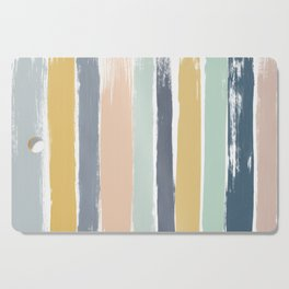 Pastel Stripes Cutting Board