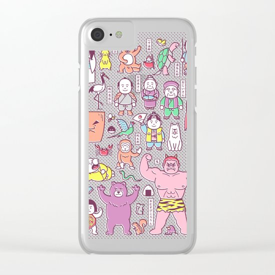 Mukashi-Banashi / Japanese Folk Tales Clear iPhone Case
