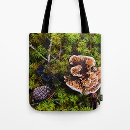 Understory of an Old Growth Lodgepole Pine Forest in Jasper National Park, Canada Tote Bag