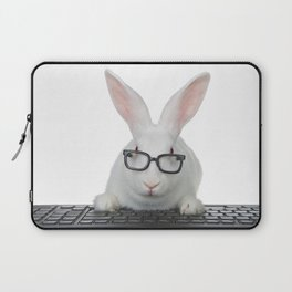 Smart Bunny Laptop Sleeve